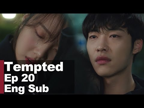 """Park Soo Young Cries Before Woo Do Hwan.. """"Don't Go.."""" [Tempted Ep 20]"""