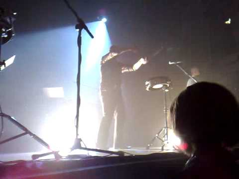 Ultravox Newcastle drumming at end of show (The Song - We Go)