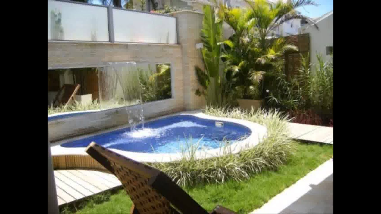 Small Garden Pool Design sublime small in ground pools ideas in pool traditional design ideas Small Space Garden Pool Youtube