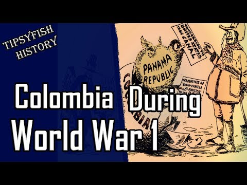 Neutral Nations of WW1: Colombia