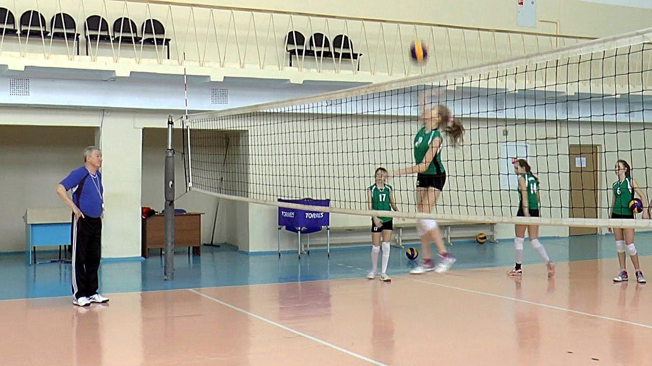Волейбол обучение. Девушки. Нападающий удар. Тренировка. Часть 8