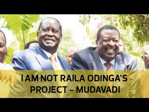 I am not Raila's project - Mudavadi