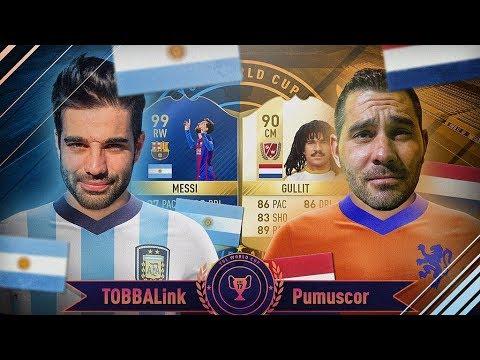 ARGENTINA VS HOLANDA - TOBBAL vs PUMUSCOR - YUL MUNDIAL