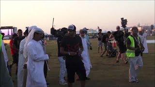 HH Sheikh Hamdan bin Rashid Al Maktoum + his G63 AMG @ DIPC 2013!!