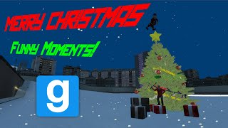 Garry's Mod || Merry Christmas [funny Moments - Santa's Sleigh, Explosive Ranbows! And More]