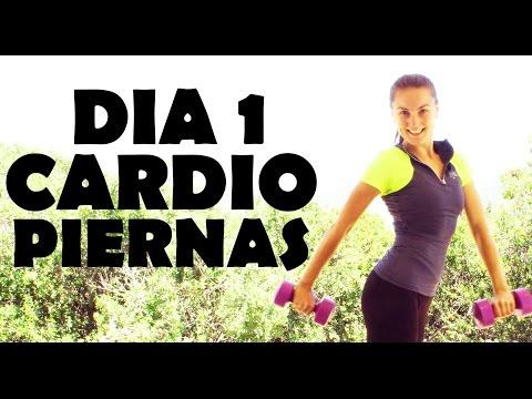 Cardio intenso para quemar - Día 1 Piernas - Perder peso rápido