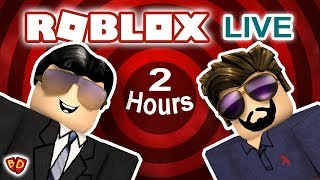 🔴 Ben and Dad Play Roblox Live! 2 Hour Special!