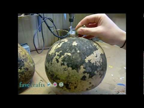 Cleaning The Exterior Of Gourd