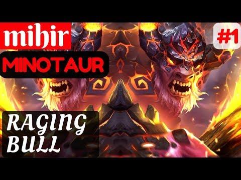 Raging Bull [Rank 4 Minotaur] | mihir Minotaur Gameplay and Build #1 Mobile Legends