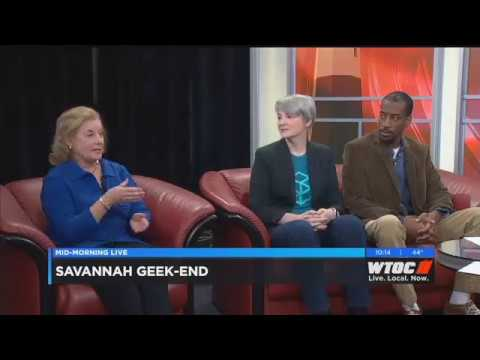 Geekend 2018 WTOC Mid-Morning Live Interview