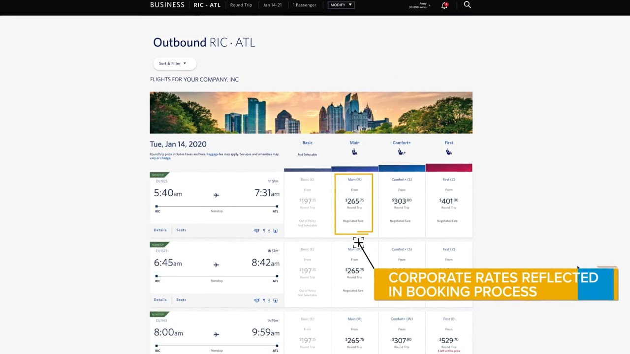 How To Sync Delta Air Lines Bookings And E Receipts With Concur Travel And Expense