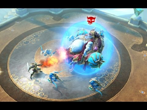 Dungeon Hunter 5 - Android IOS App (By Gameloft) Gameplay Review [HD+] #03 Lets Play