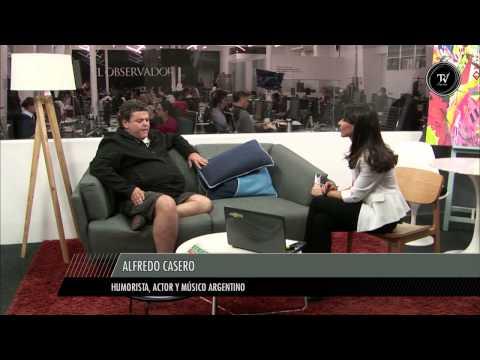Alfredo Casero, entrevista completa en El Observador TV