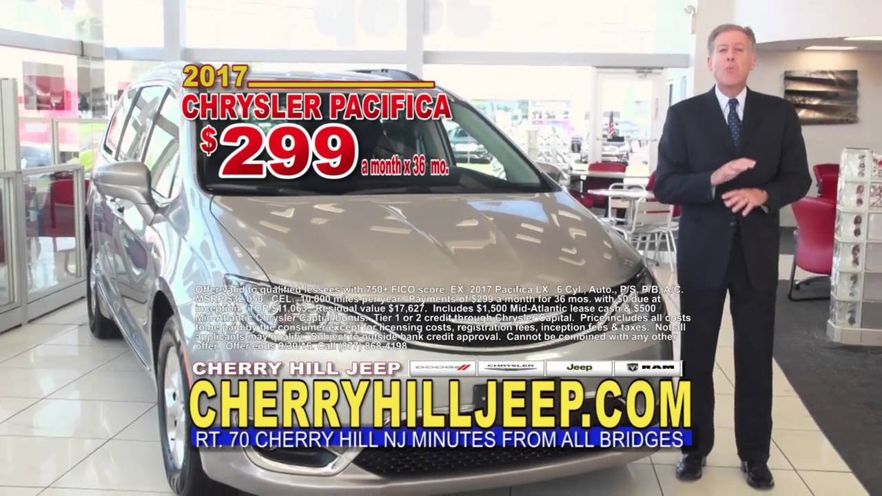 2017 Chrysler Pacifica Special Cherry Hill Dodge Chrysler Jeep Ram