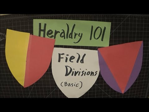 Heraldry 101: Basic Field Divisions