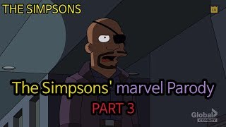 The Simpsons' Marvel Parody - PART 3