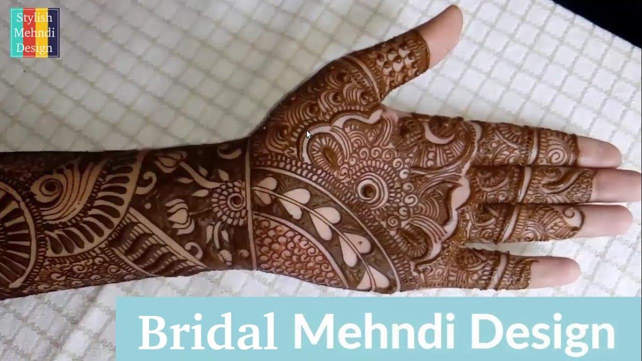 full hand new mehndi design