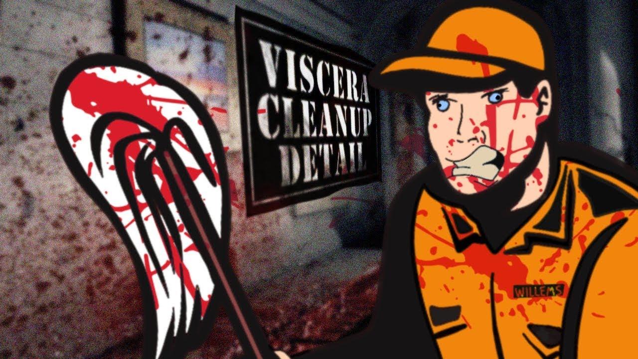 MESSY BREAKUP - Viscera Cleanup Detail Gameplay