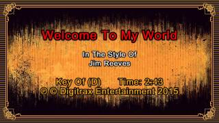 Jim Reeves - Welcome To My World (Backing Track)