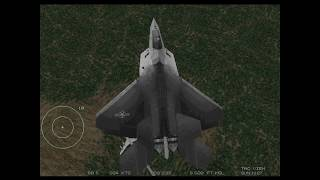 Jet Fighter 3 - Training Mission 5 and F-117A Nighthawk Showcase