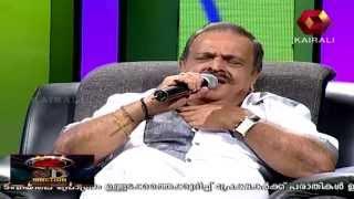 P Jayachandran sings 'Rasathi Unna kanatha nenju'