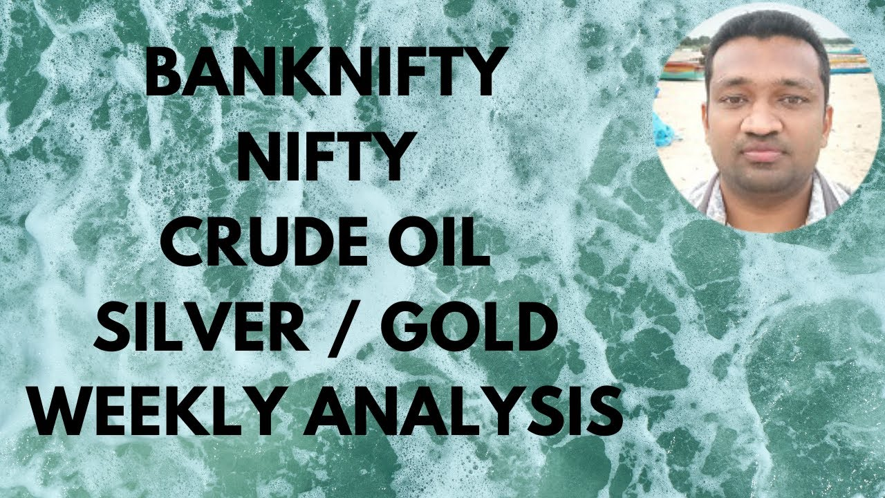 Nifty Option Strategy BankNifty Future Trading Crude Oil Levels Silver Gold Price Weekly Analysis TT