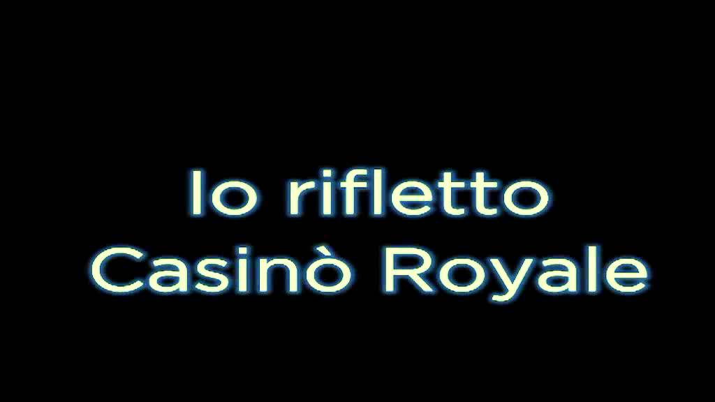 Casino royale crx vinile