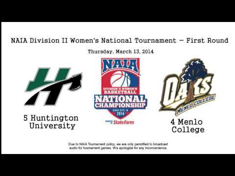 HU Women's Basketball vs Menlo College (AUDIO ONLY)