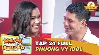 Khẩu Vị Ngôi Sao | Tập 24 | Phương Vy Idol cười tít mắt khi kể bí quyết giữ chồng với Bình Minh thumbnail