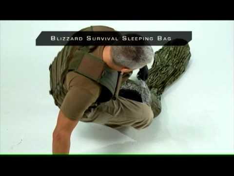 The Blizzard Bag Survival Sleeping Bag Bivvy