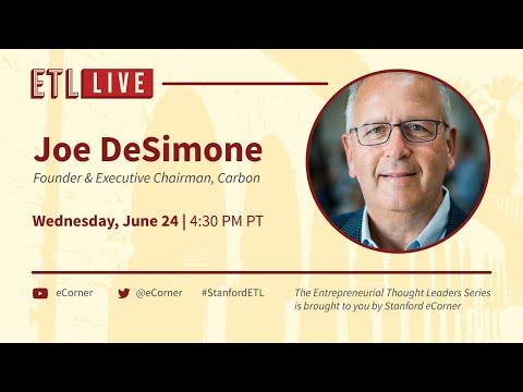 ETL Speaker Series: Joe DeSimone, Carbon