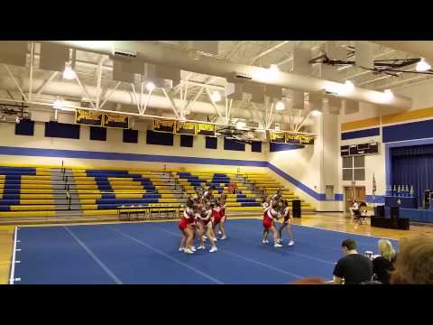 Bacon County Middle School Cheerleading Team