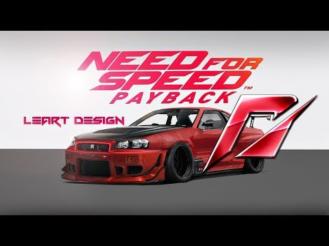 Nissan Skyline GTR R34 (Need For Speed PAYBACK) Virtual Tuning