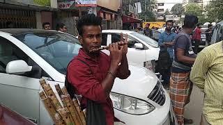 Shei Tumi keno eto ochena hole-Flute Covered by a Street Artist Md.Hossain(bangladesh)