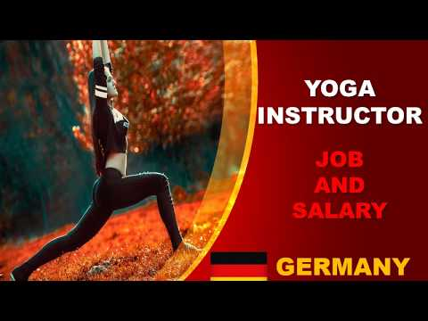 Yoga Instructor Salary In Germany Jobs And Wages In Germany Youtube