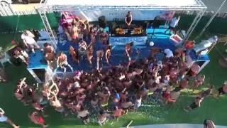 champagne shower @pool party lloret de mar, 12/08/16