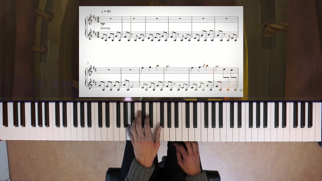 zelda  breath of the wild stables piano   sheet music