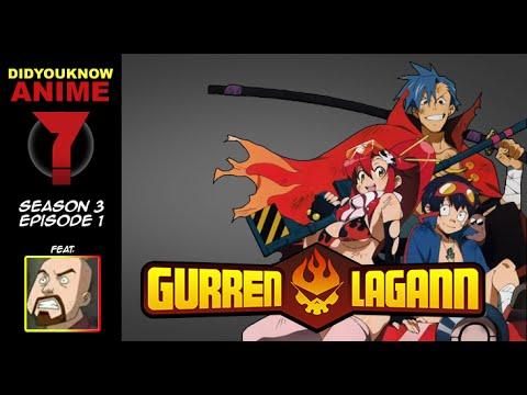 Gurren Lagann - Did You Know Anime? Feat. Kyle Hebert (Kamina)