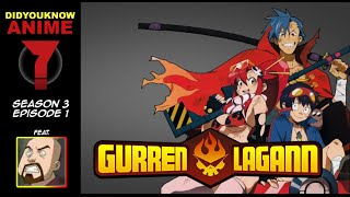 Gurren Lagann - Did You Know Anime? Feat. Kyle Hebert (Kamina)