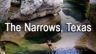 """The Narrows Texas"" On The Blanco River Hike"