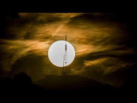 Mt Cargill Transmitter Solar Transit
