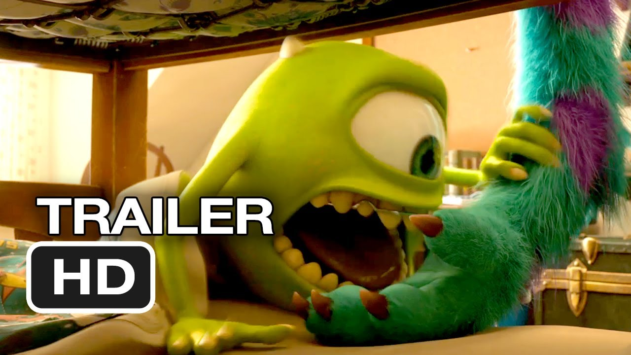 Monsters University Final Trailer 2013 Pixar Movie Hd Youtube