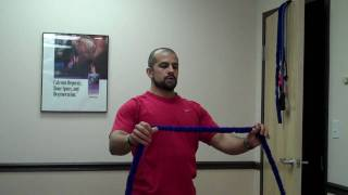 "Shoulder Exercises-arm Abduction And ""pull Aparts"""