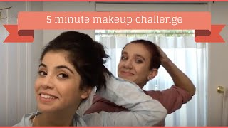 5 MINUTE MAKEUP CHALLENGE WITH CHLOE