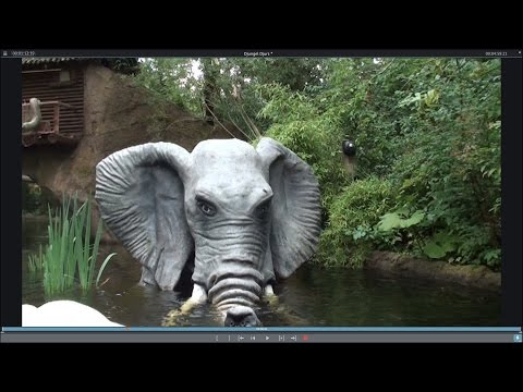 WILD 🐊Jungle Safari water ride Djurs SommerLand with King Kong  2015
