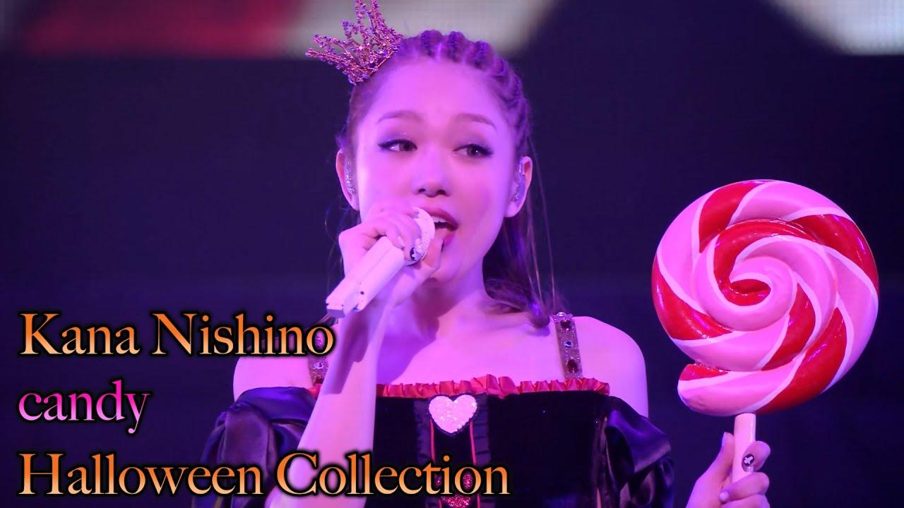 """西野カナ『candy』 Live on """"Halloween Collection""""-サブスク全曲解禁記念"""