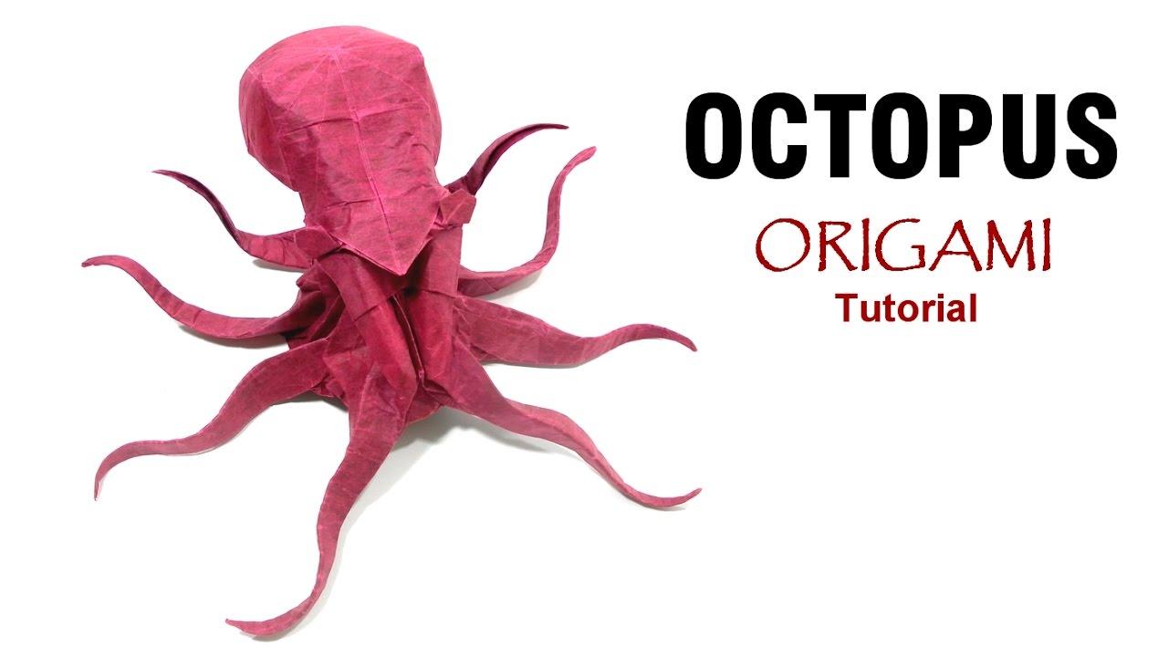 Origami Octopus Tutorial Satoshi Kamiya Tintenfisch