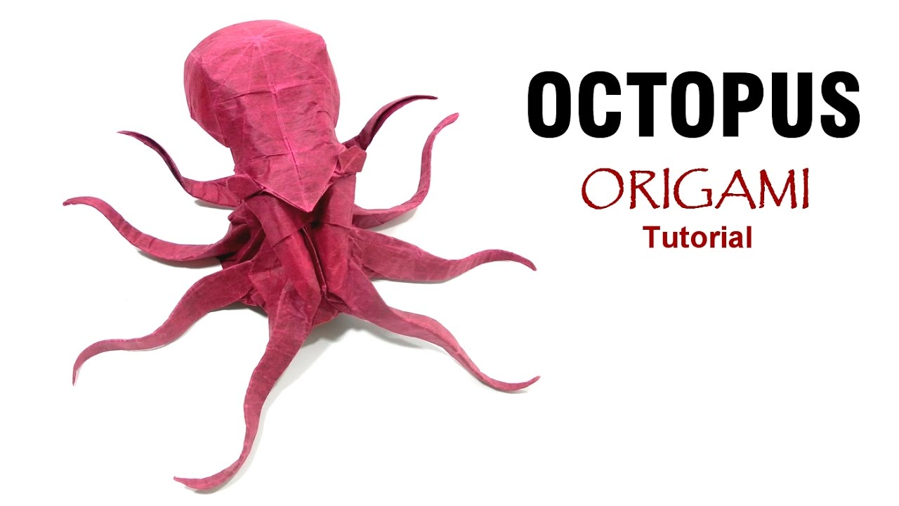 Origami Octopus Tutorial Satoshi Kamiya