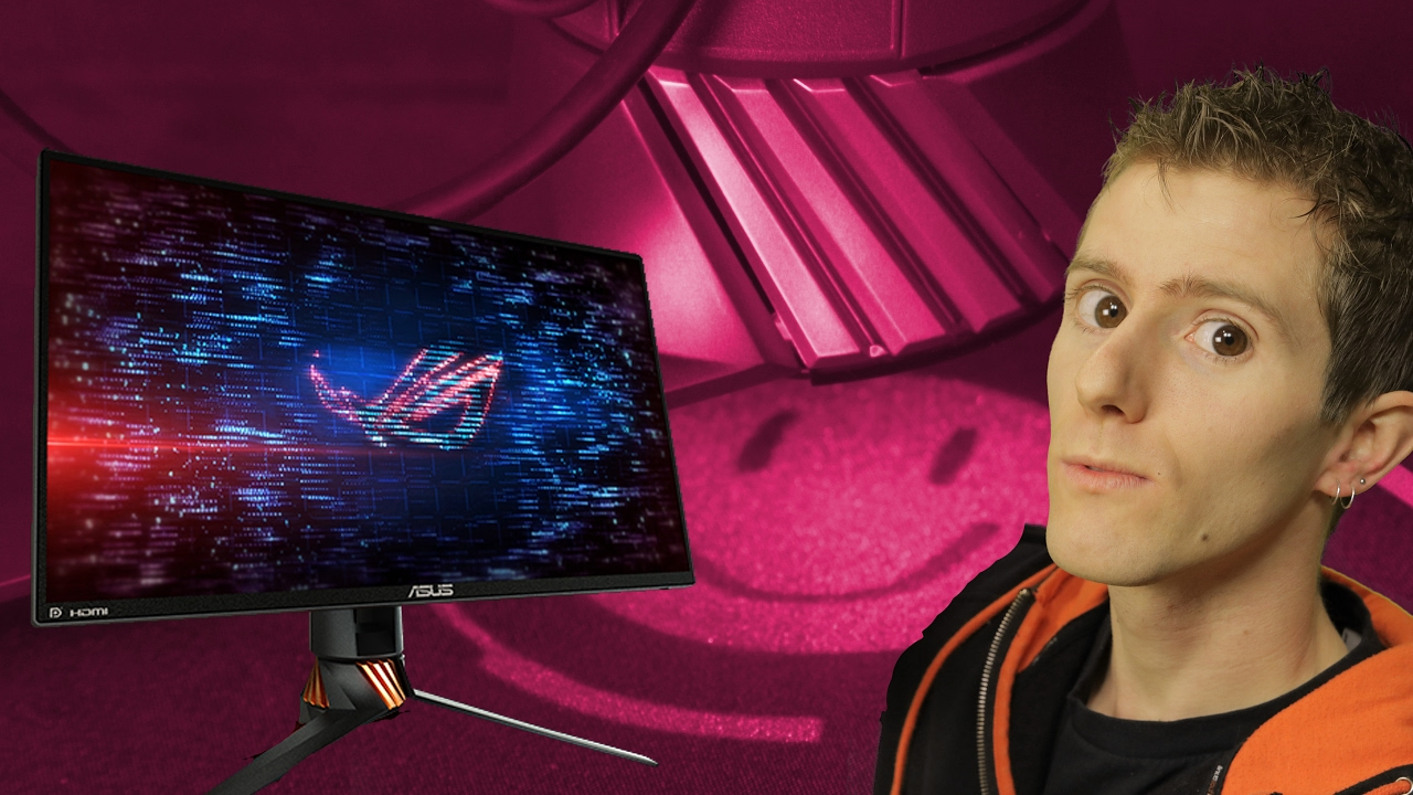 The BEST & FASTEST 240Hz Gaming Monitor  Period  - ASUS ROG Swift PG258Q  Review