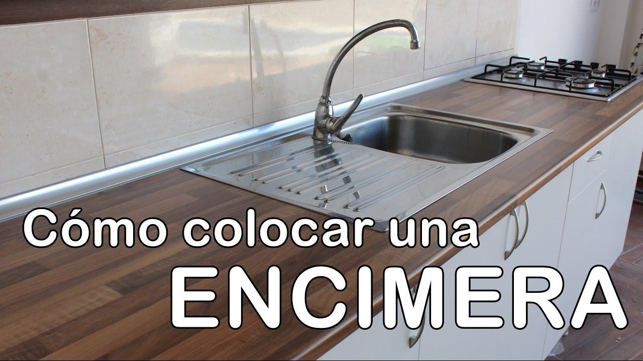 C mo montar una encimera cocina youtube for Colocar encimera